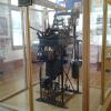 THE OPERATING CLOCK THAT RUNS THE BELL AND CLOCK IN THE CLOCK TOWER FROM A REMOTE LOCATION ON THE 2ND FLOOR